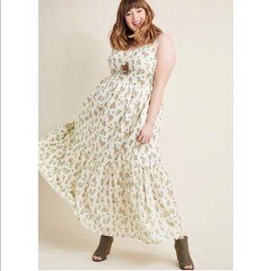 ModCloth Maxi Cactus Dress